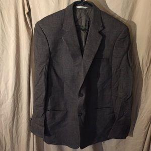 Pronto uomo tweed jacket men's 42 long